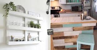 des id馥s pour la cuisine recyclage de palettes pour votre cuisine 15 idées pour vous inspirer