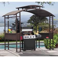 outdoor steel yard garden patio deck bbq grill cooking pagoda