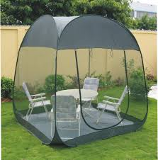 Pop Up Gazebos With Netting by Steel Wire Mosquito Tent Pop Up Outdoor Family Larger Garden