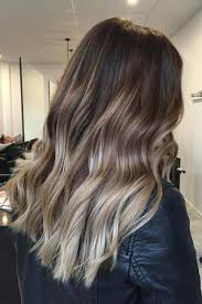 silver brown hair 20 ideas for ash blonde and silver ombre