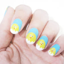 5 simple steps tutorial easter 2014 nail art for spring