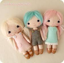 cotton candy dolls pdf pattern cotton candy dolls and cotton
