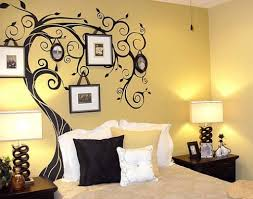 simple bedroom wall paint designs inspirations also incredible