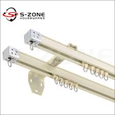 Ceiling Mounted Curtain Track System Ceiling Mounted Metal Curtain Rails Aluminum Linear Rail Buy