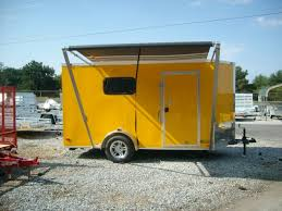 Cargo Trailer Awning Buy U0026 Sell New U0026 Used Trailers 6 X 12 Enclosed Toy Hauler Trailer