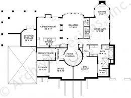 Gym Floor Plans by Ashlott Residential House Plans Luxury House Plans