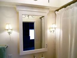 Bathroom Mirrors And Medicine Cabinets Bathroom Mirror With Storage Coexist Decors