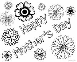 brilliant mothers day coloring pages with color pages for