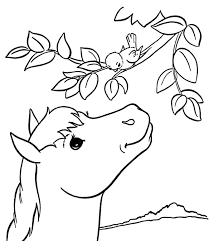 horse coloring pages kids u2014 allmadecine weddings children