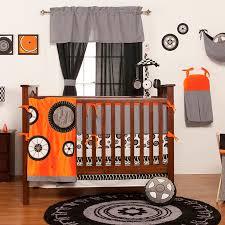 Orange Crib Bedding Grace Place Teyo S Tires Crib Bedding Collection