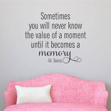 value of a memory wall quotes decal wallquotes com value of a memory wall quotes decal