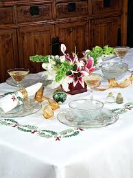 christmas table linens sale holiday table linens thanksgiving christmas tablecloths lenox on