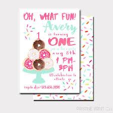 birthday invites best donut birthday invitations ideas donut
