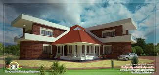 kerala home design dubai unique lake side kerala villa elevation house design plans