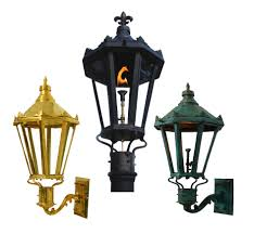French Quarter Gas Lanterns by The Gas Light Company Copper Gas And Electric Lights Gas Light