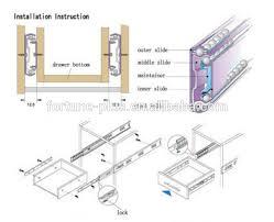 drawer slide locking mechanism wonderful heavy duty kitchen drawer slides 96 with additional home