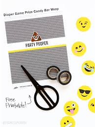 emoji party ideas for an emoji baby shower from paging supermom