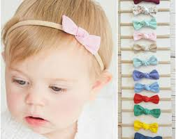 baby hairbands pink baby headband etsy