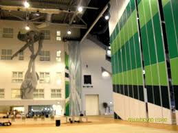 china high movable partition wall for multi purpose hall stadium