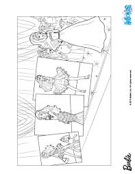 barbie on the catwalk coloring pages hellokids com