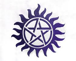supernatural inspired anti possession tattoo embroidery design