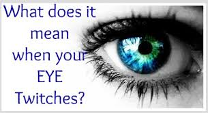 right or left eye twitching meanings and superstitions eye twitching