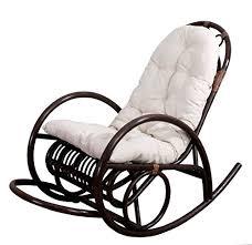 cuscini per sedia a dondolo sedia a dondolo derby 139x58x110cm legno seduta poliestere cotone