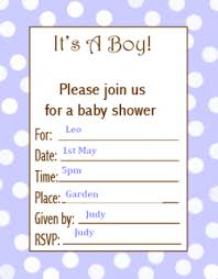 baby shower for free printable baby shower invitations for boys and hubpages