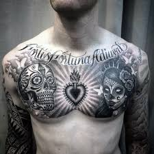 placement for a skull awesome tattoos