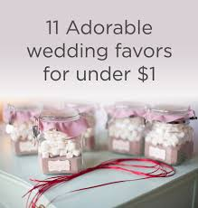 wedding favors 11 adorable wedding favors for a dollar weddingmix