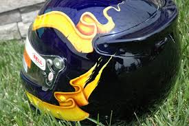 custom painted motocross helmets custom painted helmets by bad paint