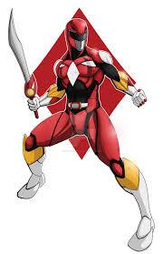 red power ranger comicartist88 deviantart