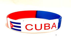rubber wrist bracelet images Cuban flag wristband cuba silicone rubber wristband jpg