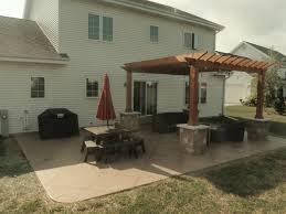 portfolio outdoor living spaces ageless concrete