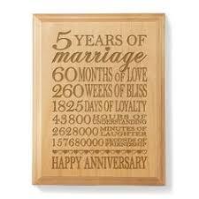 5 year anniversary gift ideas beautiful 5th year wedding anniversary gift contemporary styles