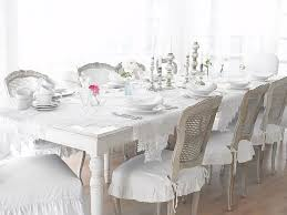 Best Vintage Dining Rooms Images On Pinterest Cottage Style - All white dining room