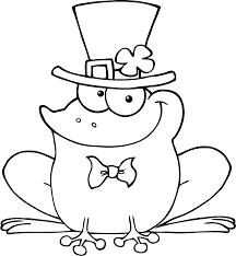 frog coloring pages birthday printable picture eggs animal
