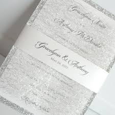 silver wedding invitations silver wedding invitations archives lavender paperie