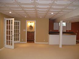 ceiling tiles for basement basements ideas