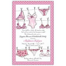 Lingerie Party Invitations Lingerie Line Bridal Shower Invitations Paperstyle