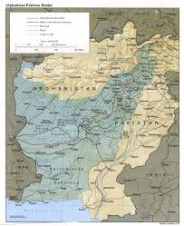Pakistan On Map Of World by Map Of Pakistan U0027s Border With Afghanistan