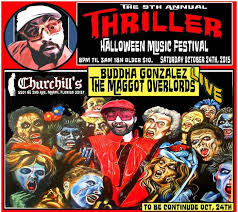 Mob Costumes Halloween Churchill U0027s Pub 9th Annual Thriller Music Fest U0026 Horror