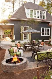Large Paver Patio Design With Grill Station Bar Plan No by Tour The 2016 Southern Living Idea House In Mt Laurel Alabama
