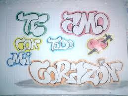 imagenes que digan te quiero luis imágenes de graffitis que digan te amo imágenes chidas