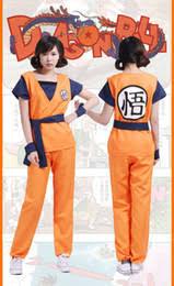 Super Saiyan Costume Halloween Dragon Ball Costumes Suppliers Dragon Ball