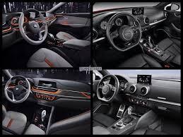 compare audi a3 and a4 image comparison audi a3 vs bmw 1 series sedan concept