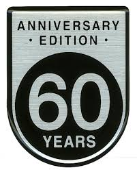 60 years anniversary 60 years anniversary badge decal 55156599aa