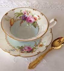 antique teacup trio german tea cup trio vintage teacup shabby