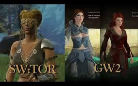 Guild Wars 2 Meme - leaderboard swtor vs gw2 cinematic cutscenes