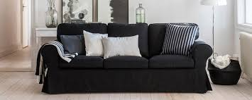 housse de canapé ikea ektorp ektorp housse de canapé 3 places avec passepoil bemz